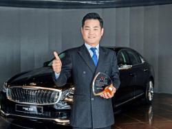 기아차, 車 6000대 판매한 정송주 부장 '그레이트 마스터' 임명