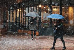 [포토]'눈오는 거리'