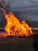 정월대보름 '달집태우기' 점화식 중 폭발사고…3명 부상