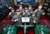 공군 5비 장병들, 난치병 어린이 위한 헌혈증 1400장 기부