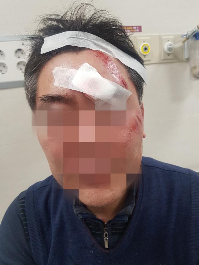 현직 구청장, 식당서 동장 폭행해 현행범으로 체포