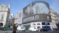 현대차, 英피카딜리광장 전광판에 BTS '아미피디아' 런칭 알려