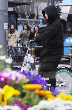 [포토]'봄 시샘하는 추위'