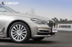 BMW 7시리즈,..한국타이어 런플랫 달고 달린다
