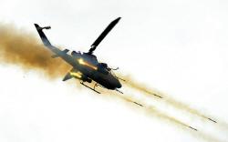 `코브라 공격헬기` 비행...불시착 사고 8개월 만