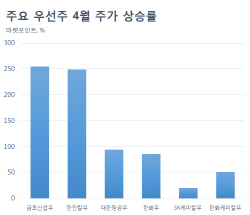 '이상 급등' 우선주, 보통주와 가격차 미미…투자매력 '뚝'