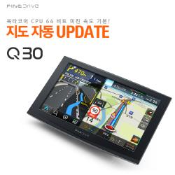 파인디지털, 지도 자동 갱신 '파인드라이브 Q30' ...