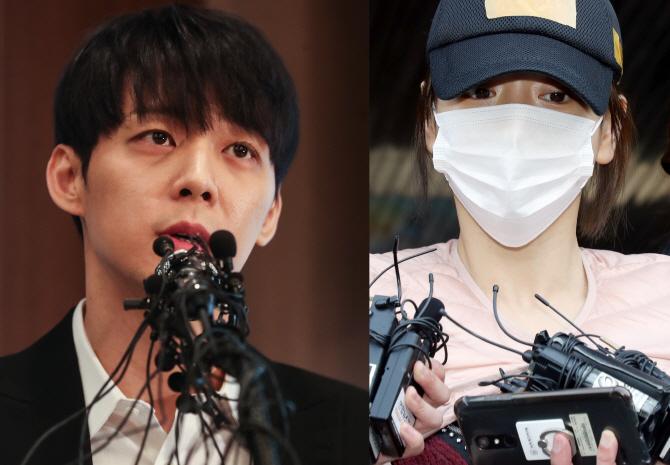 경찰, 박유천 '황하나와 마약 투약 혐의' 사전구속영장 신청