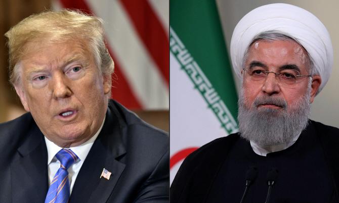 """""""美와 싸우면 종말""""‥트럼프, 이란에 경고"""