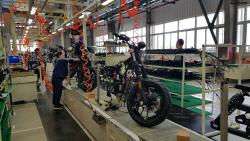 [르포]`공자의 도시`에 닻 올린 이륜차 기지…KR모터스 中 공장 가동