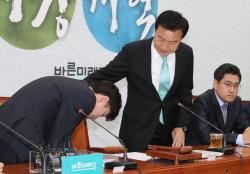 하태경 '정신퇴락' 발언, 손학규에 공식사과…'90도 인사'