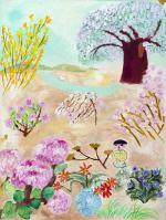 [e갤러리] 봄날, 간다 그 시절에 그랬듯…김호진 '엄마의 정원'