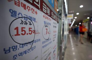서울 아파트 가격 27주 연속 하락