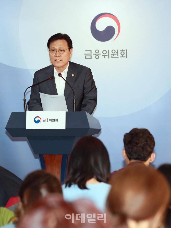 금융위, 키움·토스뱅크 예비인가 부결(1보)