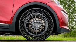 미쉐린·GM..공기압 없는 타이어 공동 개발