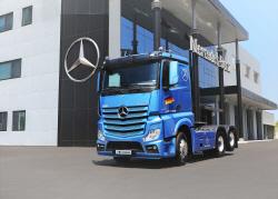 다임러트럭, 530마력 트랙터 '악트로스 2653L' 출시