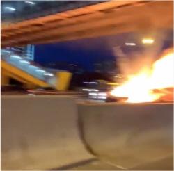 테슬라 오토파일럿 오류? 러시아서 사고로 폭발