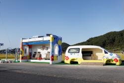 현대차, 버스정류장을 복합 문화 공간으로 '변신'
