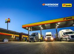 한국타이어, 美최대 트럭 정비 네트워크 러브스와 파트너십...