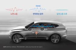현대차그룹, 노면소음저감기술 세계 최초 개발…GV8...
