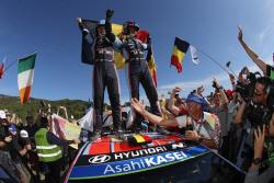 현대차 월드랠리팀, 日토요타 제치고 WRC 종합 우승