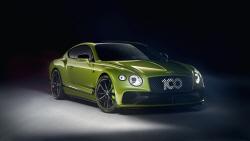 벤틀리, 15대 한정판 '컨티넨탈 GT W12' 출시…'100...