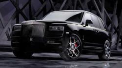 롤스로이스, 초호화 고성능 SUV '블랙배지 컬리넌' ...