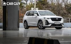 승차감 굿 캐딜락 XT6..대형 SUV의 새로운 대안