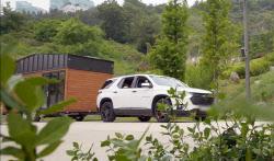 tvN '바퀴 달린 집'에 나온 대형 SUV의 정체는?