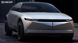 신기술 결집 현대차 45 EV..무선 충전기술 탑재?
