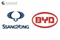 중국 전기차 원 탑 BYD, 쌍용차 인수설…신의 한 수