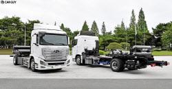 현대차, 대형 수소전기 트럭 시장 선점..세계 첫 양산