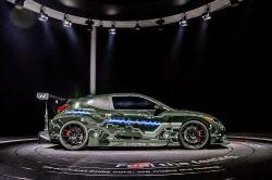 현대차, 고성능 전기차 'RM20e' 세계 최초 공개