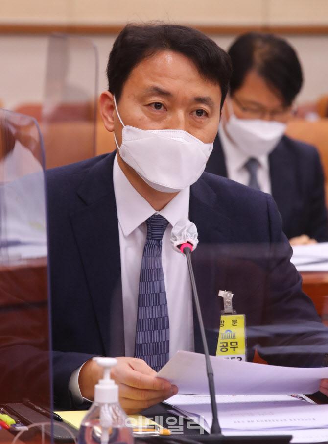 [포토]국회 법사위, '답변하는 송민헌 경찰청 차장'