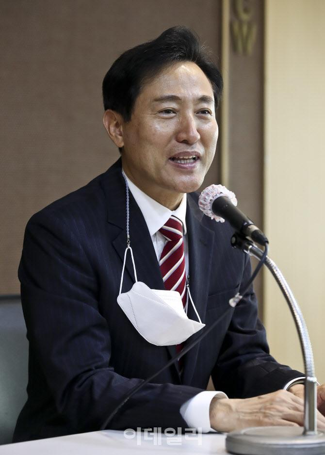 [포토]한국여성단체협의회 만난 오세훈 예비후보