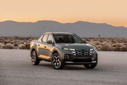 현대차, 픽업트럭 `싼타크루즈` 공개‥미국 RV 시장 공략 박차