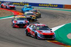 현대차, '아반떼 N TCR' WTCR 3차전 우승