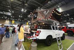 2021 오토살롱위크, 국내 '차박·캠핑' 열풍에 캠핑카 콘텐츠 선보여