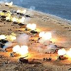 北 포사격 훈련