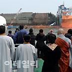세월호 미수습자 조기수습 기원하는 4대종단