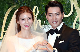 주상욱♥차예련, 결혼