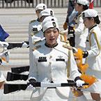 청와대 분수대 앞 의장 행사 재개