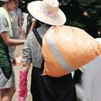 김정숙 여사, 청주 수해복구 지원