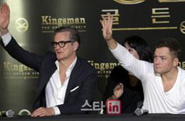 영화 `킹스맨:골든서클` 프레스 컨퍼런스