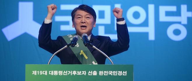 안철수, 광주·전남·제주 경선서 '압승'