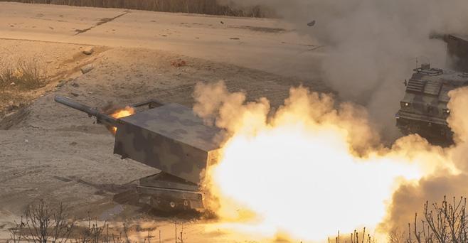 [르포]軍 최신무기 총동원 대규모 화력훈련