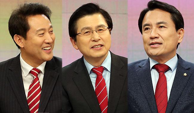 한국당대표 선호도, 오세훈 37%·황교안 22%·김진태 7%