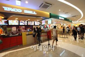 `불황은 없다`..백화점 `식품 大戰` 돌입