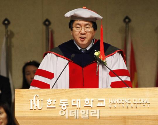 장순흥 한동대 총장 '대학 리모델링' 강조