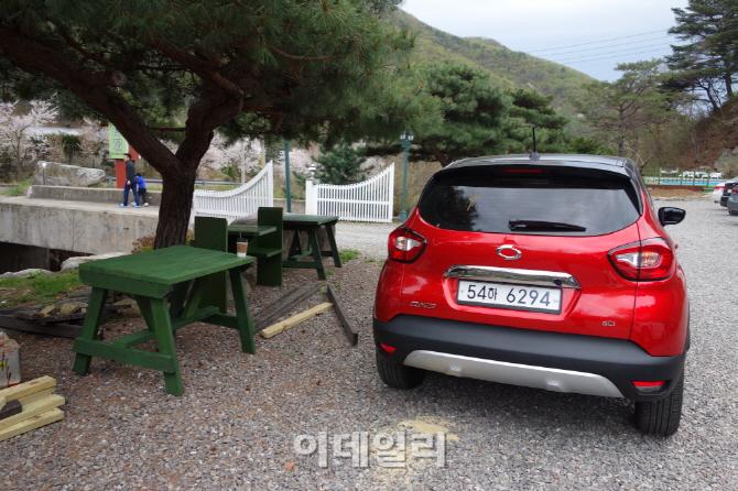 [시승기]`도심형 SUV? 캠핑도 거뜬!` 르노삼성 QM3